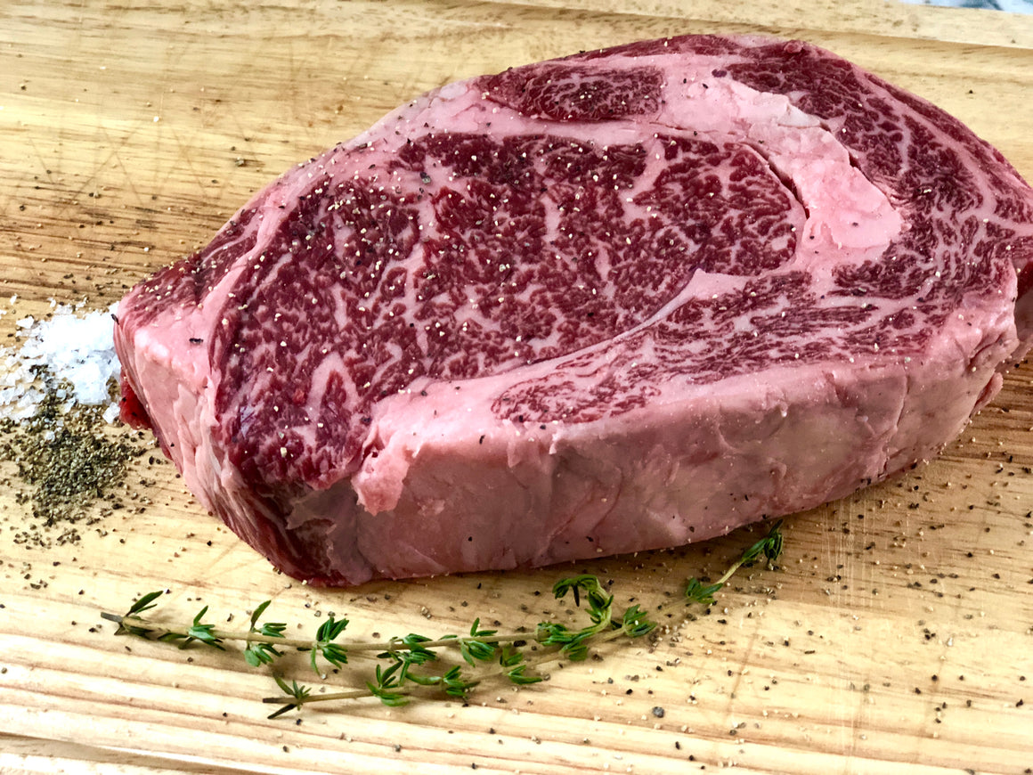 Wagyu Boneless Ribeye Steak - The Organic Butcher of McLean
