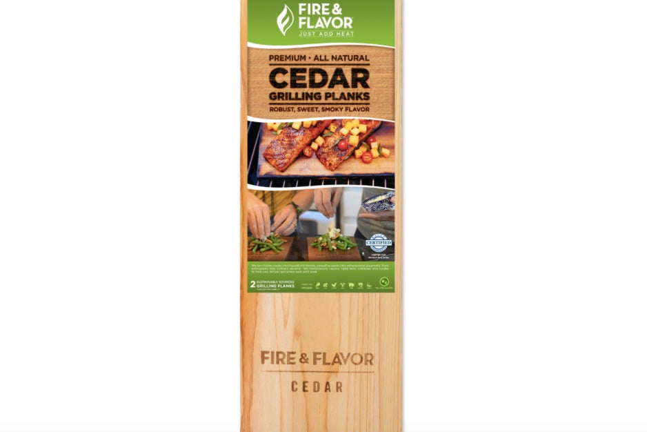 Fire and Flavor Cedar Grilling Planks - The Organic Butcher of McLean
