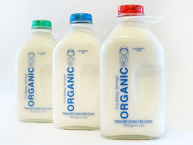 Grass-Fed Milk - 1/2 Gal. - The Organic Butcher of McLean
