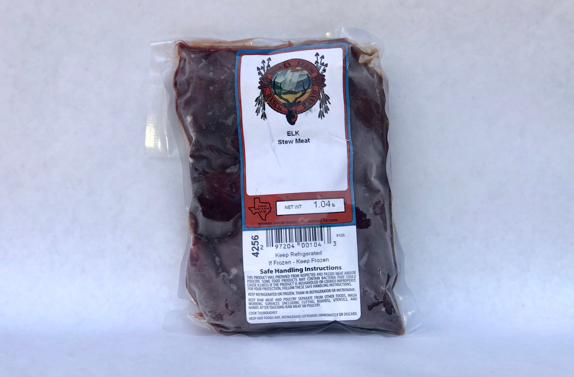 Elk Stew Meat - The Organic Butcher of McLean