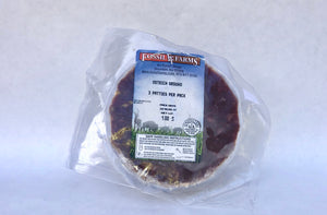 Ostrich Burgers - 3/pk. - The Organic Butcher of McLean