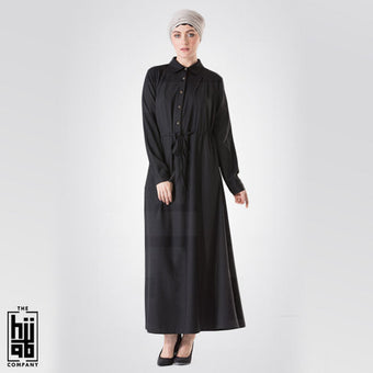 Semi Coat with Front Pockets