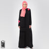 Arooma Pink Embroidery Bunch Maxi - The Hijab Company