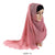 Pretty Pleats - Rouge - The Hijab Company