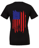 Freedom Unisex Tee in Black