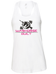 Warhorse Rose Racerback Tank in White