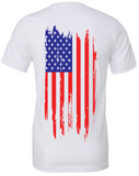 Freedom Unisex Tee in White