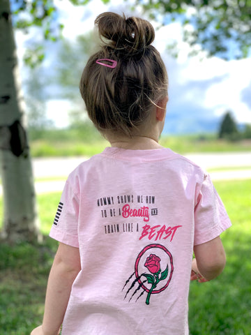 Warhorse Rose Toddler Tee