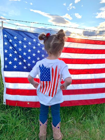 Freedom Toddler Tee