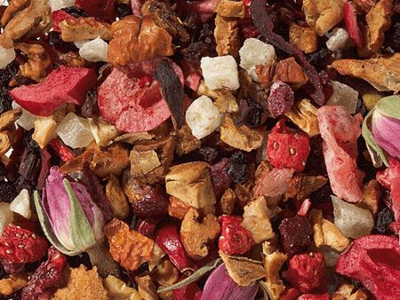Berries & Rosebuds | Fruit Tea Blend