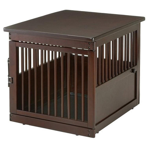 Richell End Table Dog Crate - Medium