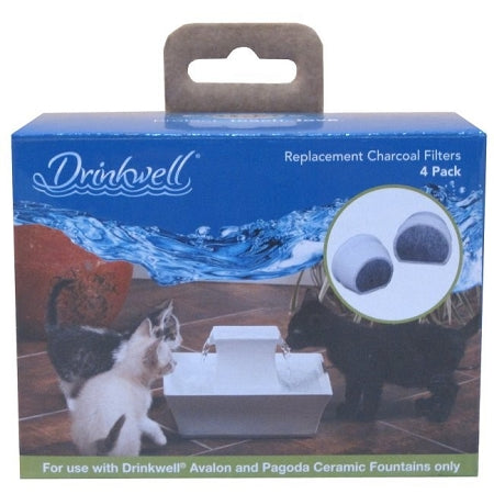 Drinkwell Avalon & Pagoda Charcoal Filters