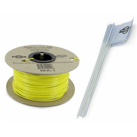 Petsafe Pet Fence Wire And Flag Kit 500 Feet