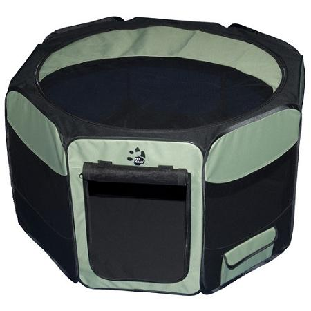 Travel Lite Soft-sided Pet Pen - Large-sage