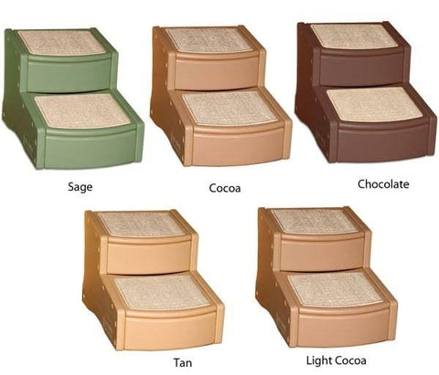 Easy Step Iii Pet Stairs - Chocolate