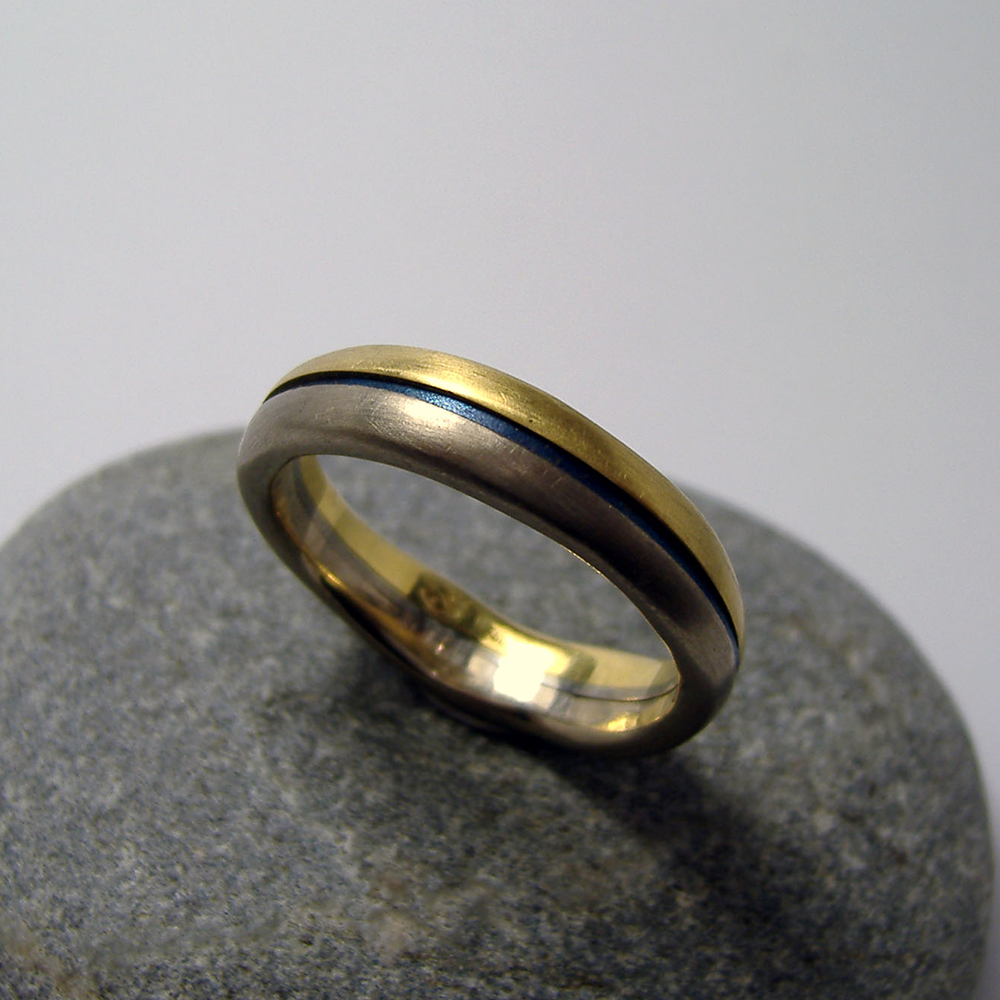 Handmade Mens Wedding Band