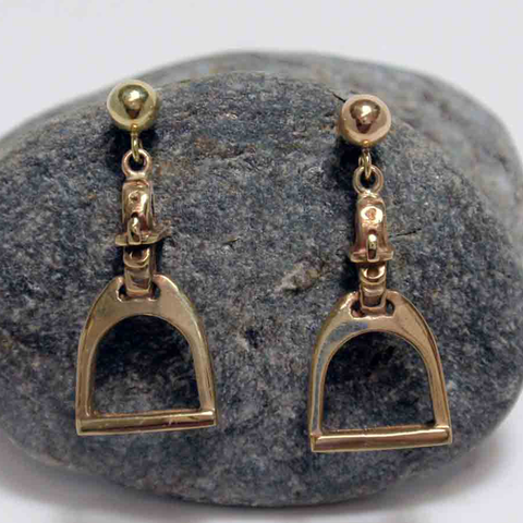 9ct Stirrup Earrings