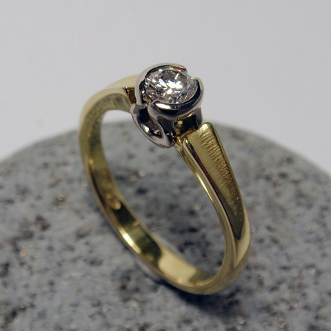 .30ct Diamond, 18ct, Ring