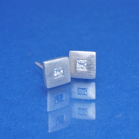 9ct Diamond Studs