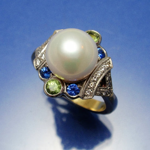 Pearl dress ring