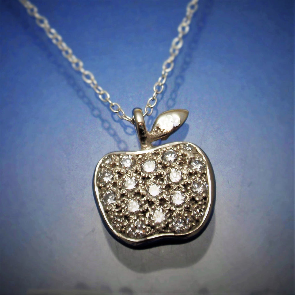 Diamond 'Apple' Pendant