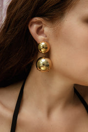 MEGA KOSMOS GOLD EARRINGS
