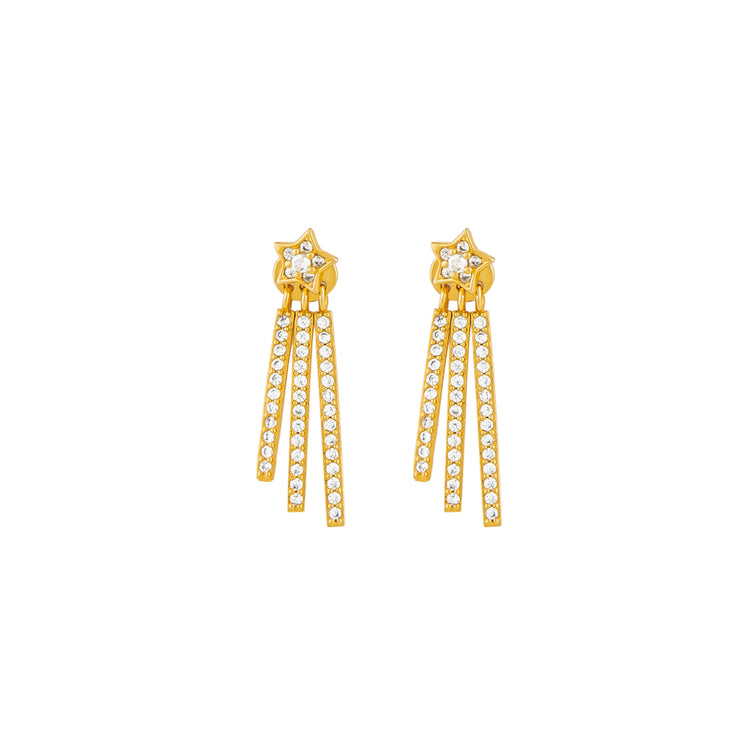 Étoile filante earrings