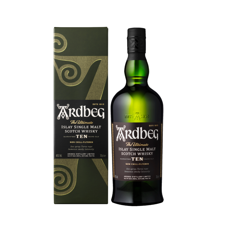 Ardbeg 10YR Islay Single Malt Scotch Whisky 750ml