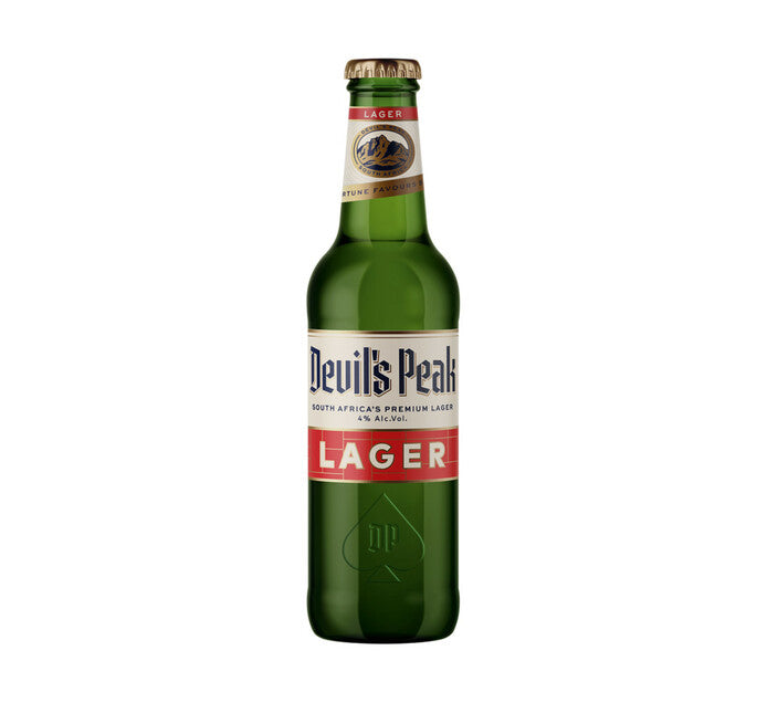 Devil's Peak Lager NRB 330ml
