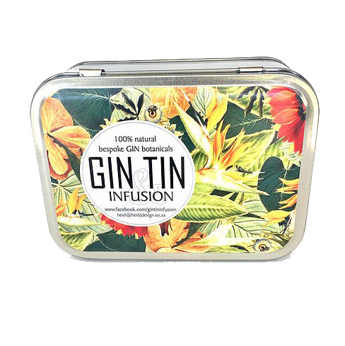 Gin Tin Infusion Pack Design