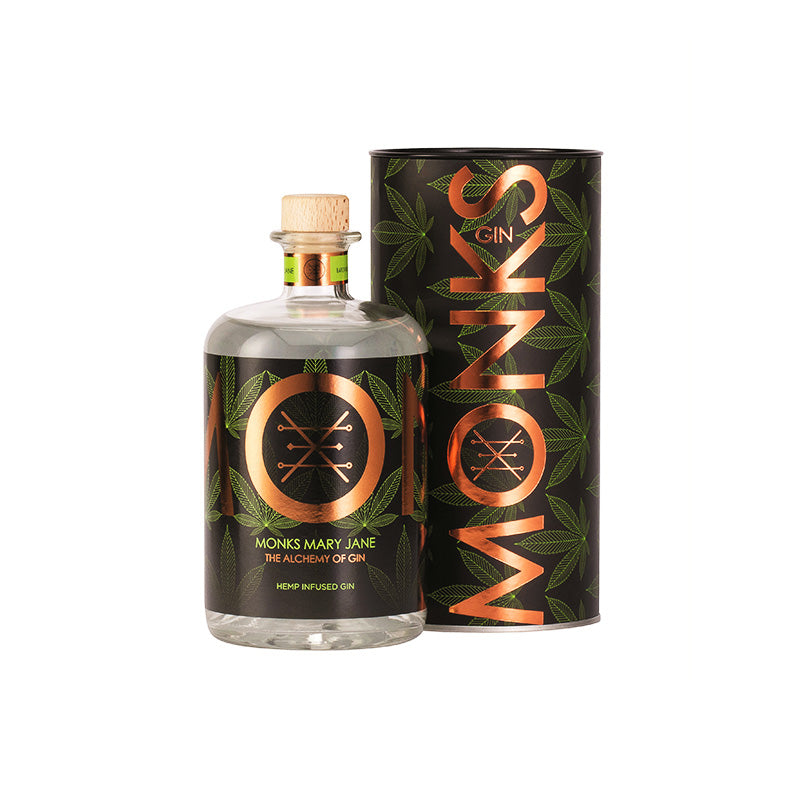 Monks Mary Jane Gin 750ml