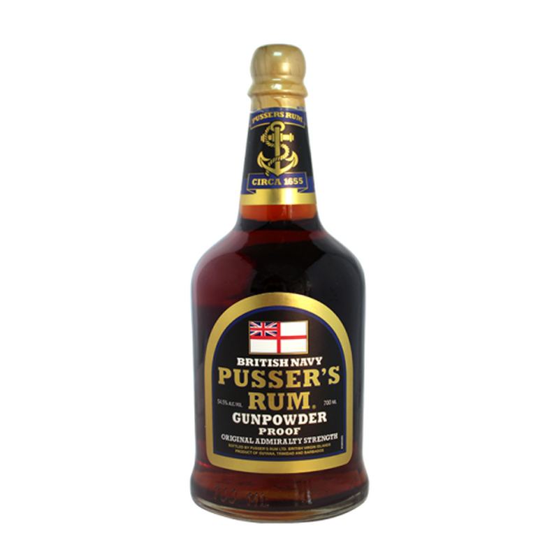 Pusser's Gunpowder Proof Rum 750ml