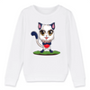 Copyfootics™ | Sweat enfant fille bio - Allez kiki