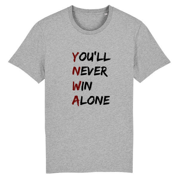 T-shirt homme bio - You'll Never Win Alone