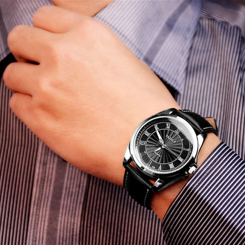 Yazole Quartz Mens Luxury Watch