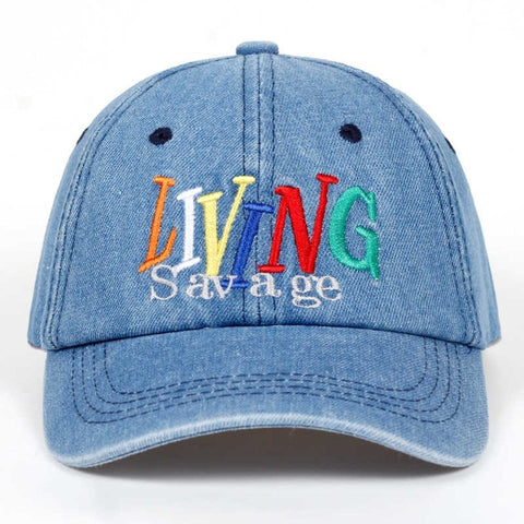 Living Savage Dad Hat