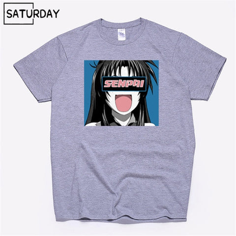 Senpai Anime Girl  T-shirt Women