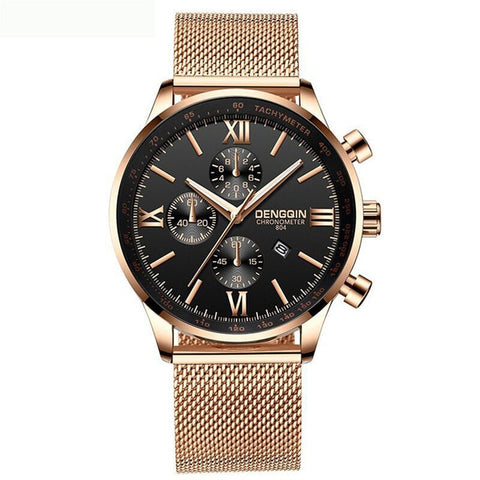 DENGQIN Casual Quartz Watch Man