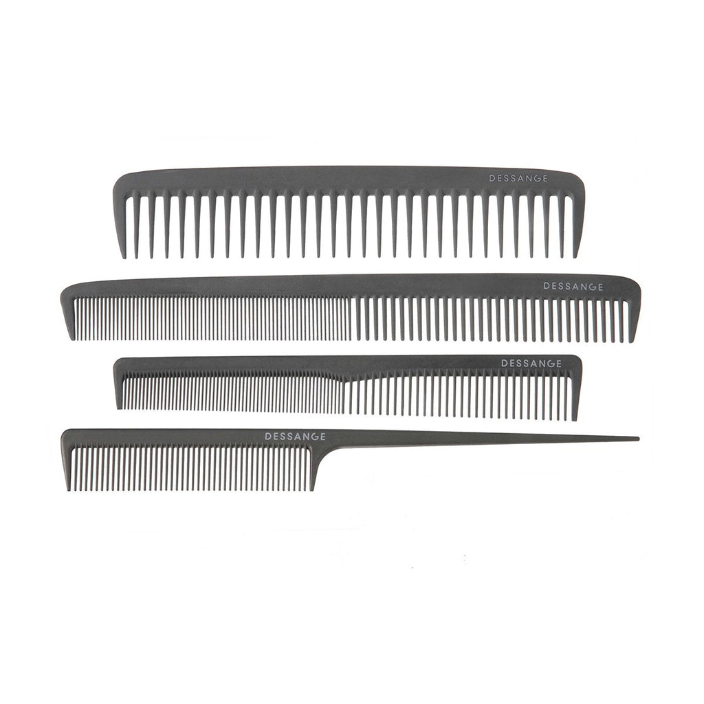 "LONG CUTTING COMB ""CARBON FIBRE"""