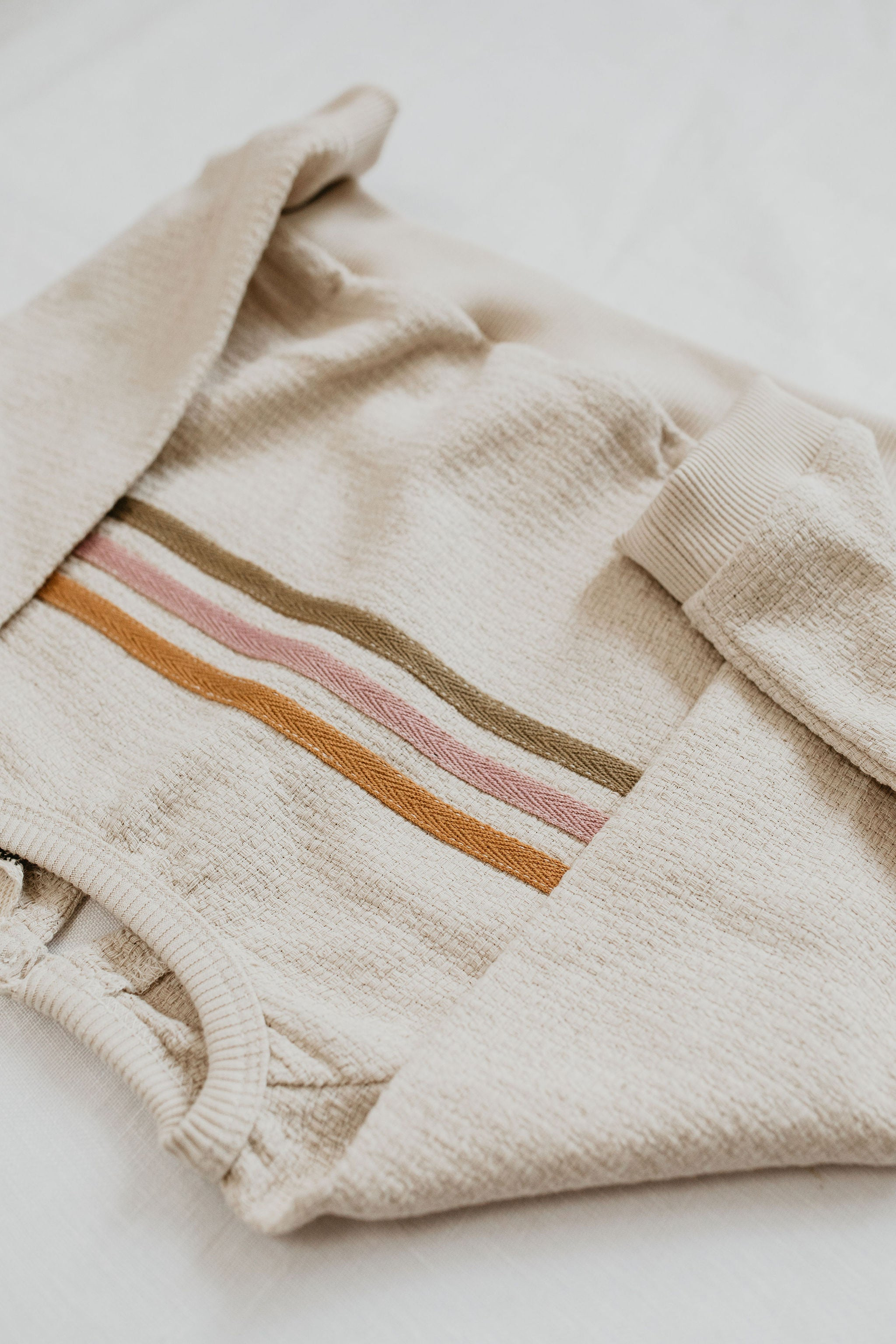 The Woven Stripe Jumper