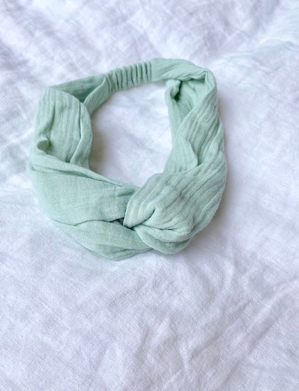 Ivy Head Band Sage