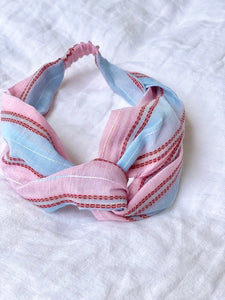 Amelia Head Band Blue/pink