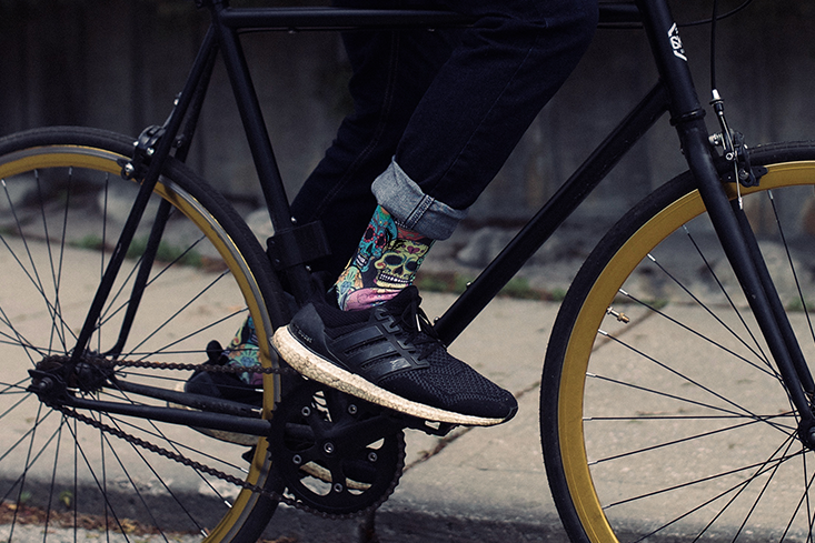 Casual Comfortable Cycling Socks for biking fixie