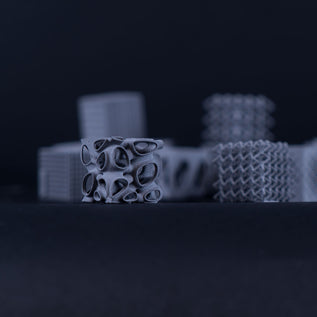 3D printed inner structures for automotive parts