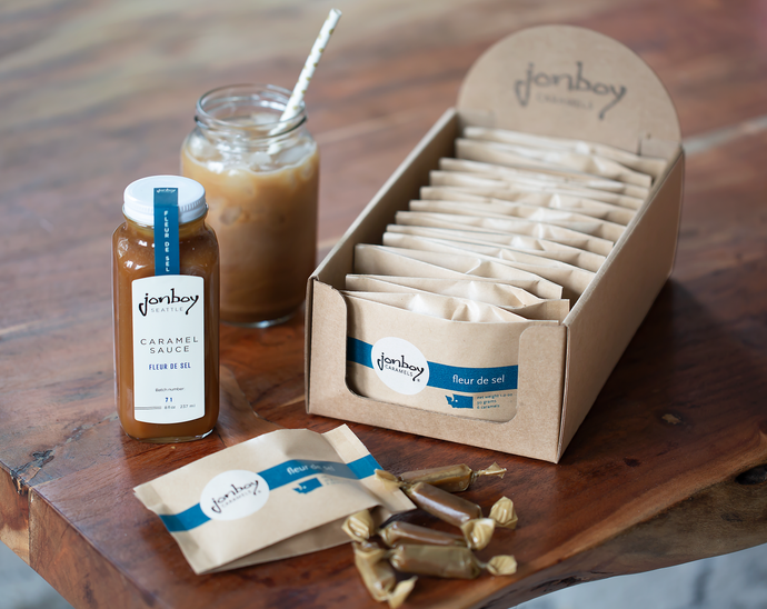 Jonboy Caramels available online and at Seattle Area grocery stores!