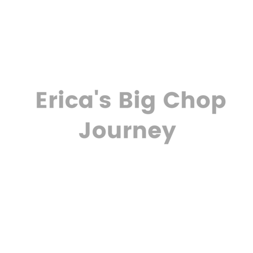 Erica's Big Chop Journey