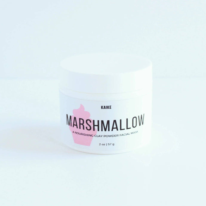 KAIKE  Marshmallow Clay Mask and Scrub