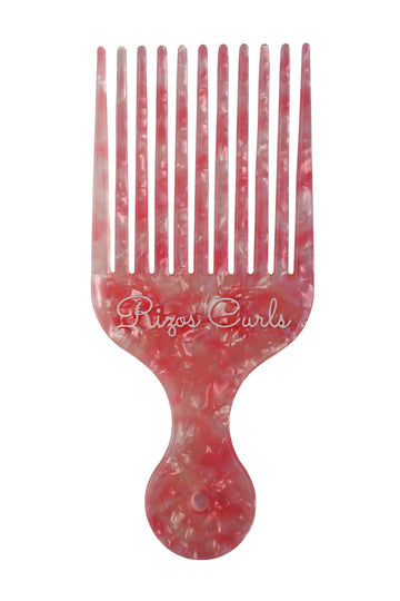 Pink Hair Pick Comb