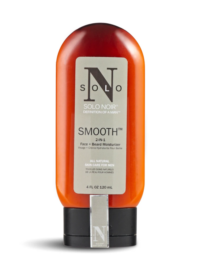Solo Noir For Men - Smooth Face Plus Beard Moisturizer