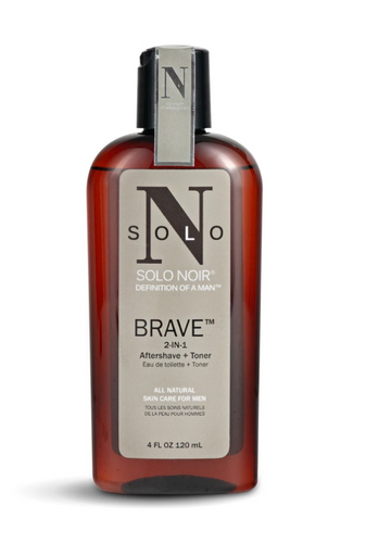 Solo Noir For Men - Brave Aftershave Plus Toner